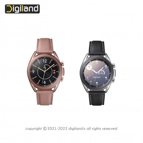 ساعت هوشمند سامسونگ مدل (41mm) Galaxy Watch3 SM-R850 با بدنه استیل ضد زنگ